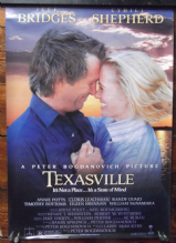 Texasville, Original DS Movie Poster, Jeff Bridges, Cybill Shepherd, '90